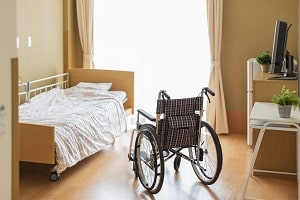 room in an assisted living facility